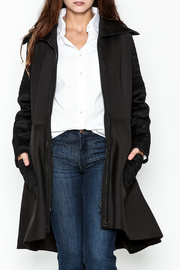 Talk of the Walk The Scuba Coat - Front cropped