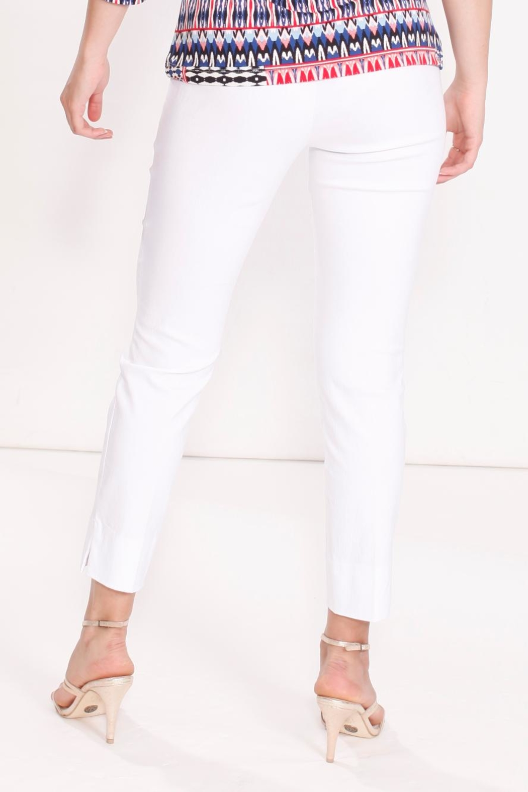 Talk of the Walk Crop Cigarette Pant - Front Full Image