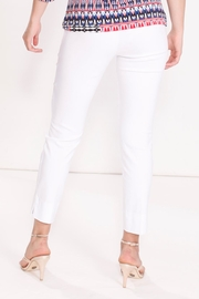 Talk of the Walk Crop Cigarette Pant - Front full body