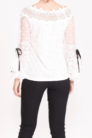 Talk of the Walk Floral Lace Blouse - Other