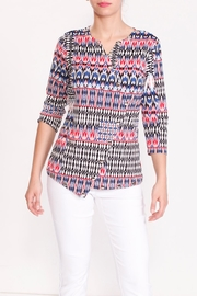 Talk of the Walk Tribal Snap Tee - Front full body
