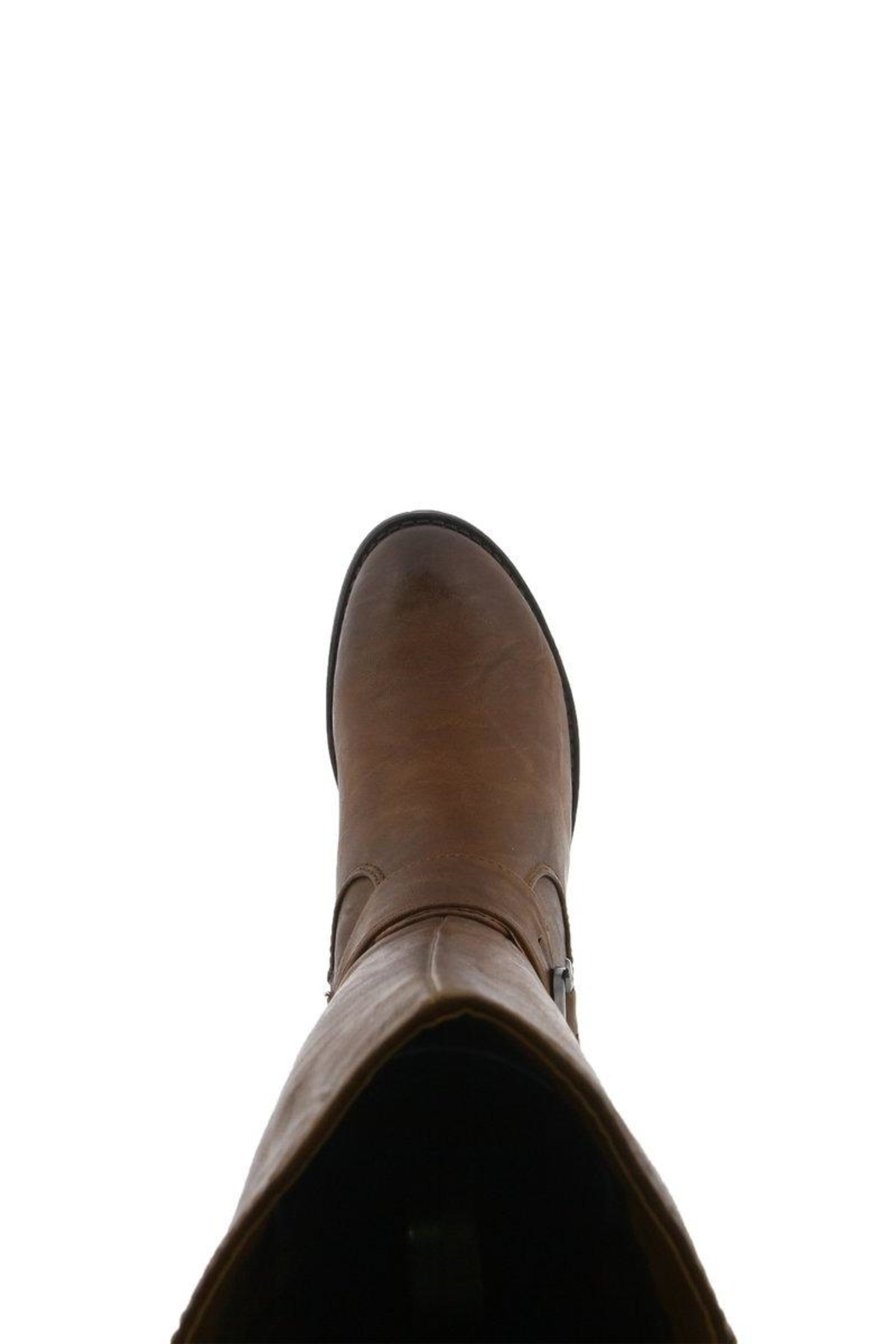 Spring Footwear Tall Buckle Boot - Side Cropped Image