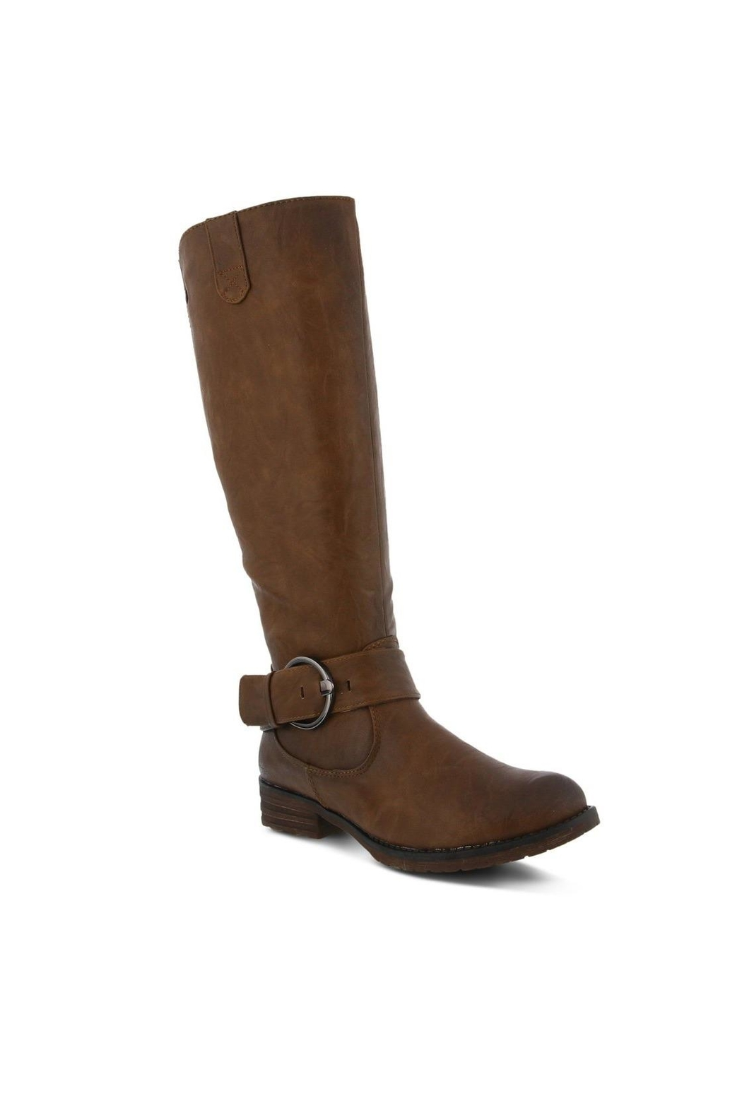 Spring Footwear Tall Buckle Boot - Main Image