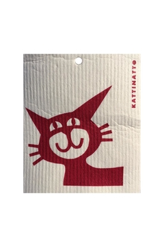 Talla Imports Swedish Wash Towel Cat - Alternate List Image