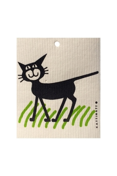 Talla Imports Swedish Washtowel Cat - Alternate List Image