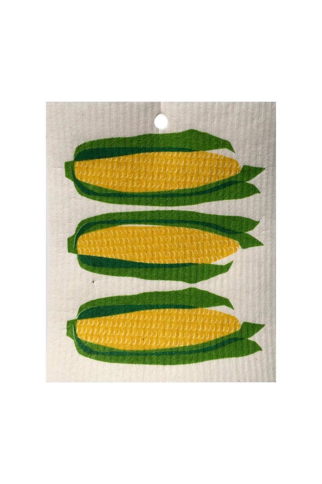 Talla Imports Swedish Wash Towel Corn - Front Cropped Image