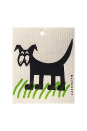 Talla Imports Swedish Wash Towel Dog - Front cropped