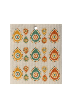 Talla Imports Swedish Wash Towel Paisley - Alternate List Image