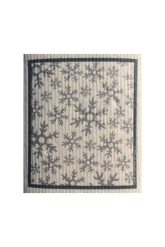 Talla Imports Swedish Washtowel Snowflakes - Alternate List Image