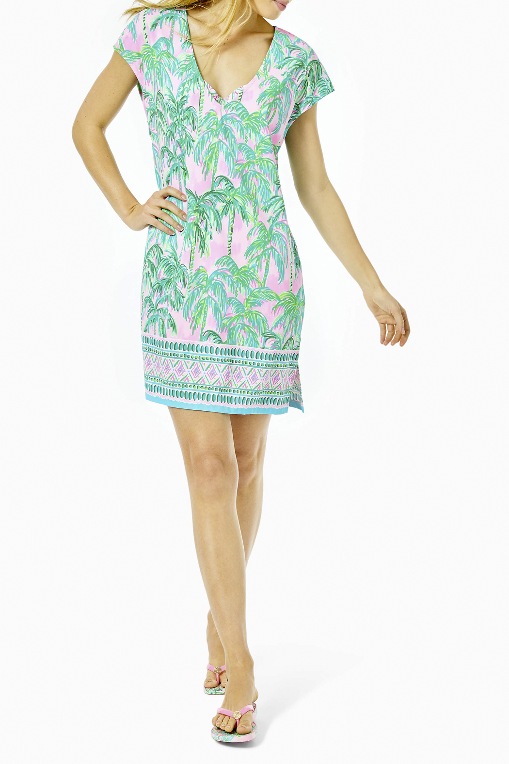 Lilly Pulitzer  Talli Cover-Up - Back Cropped Image