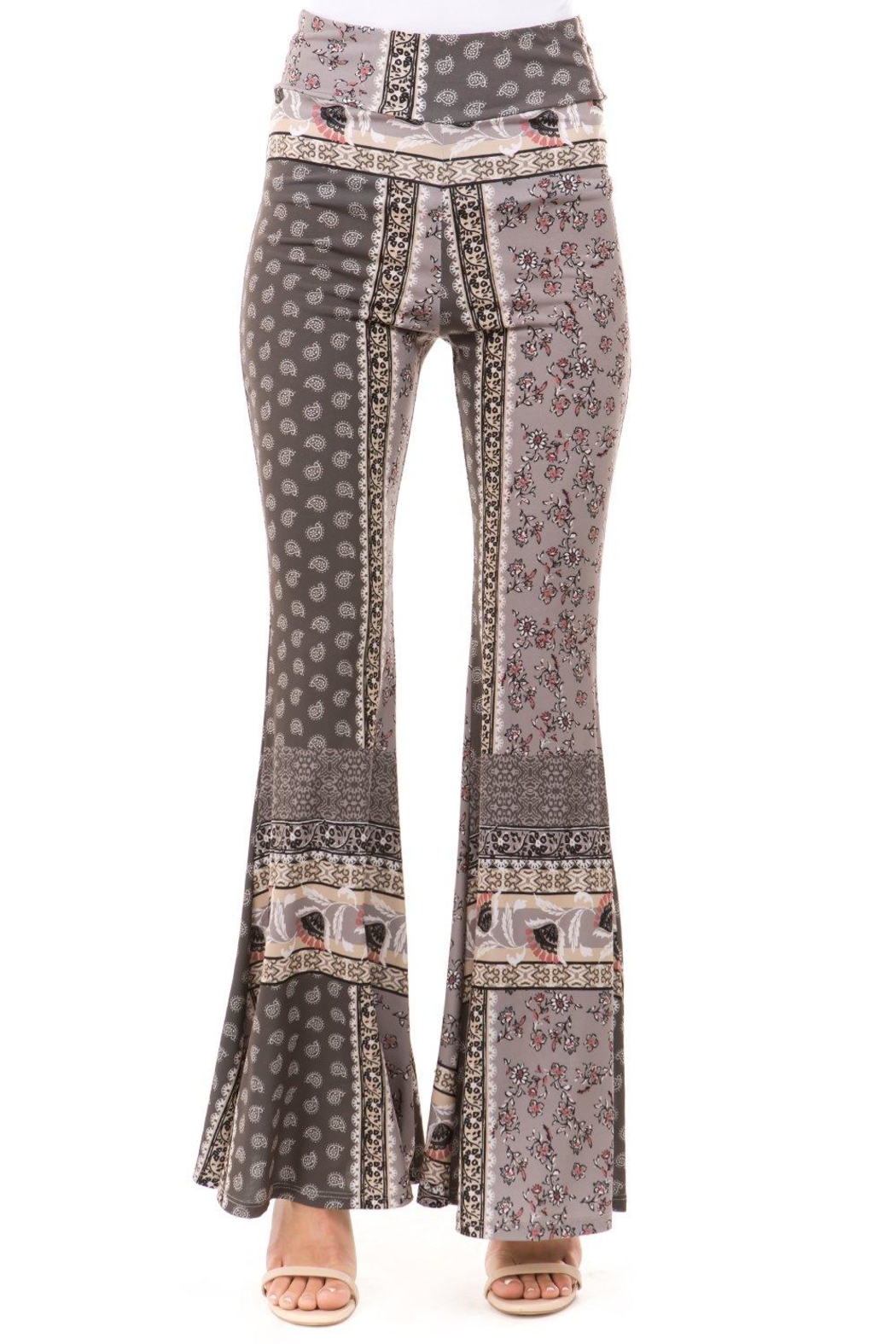 Vava by Joy Hahn Tallulah Printed Pants - Front Full Image