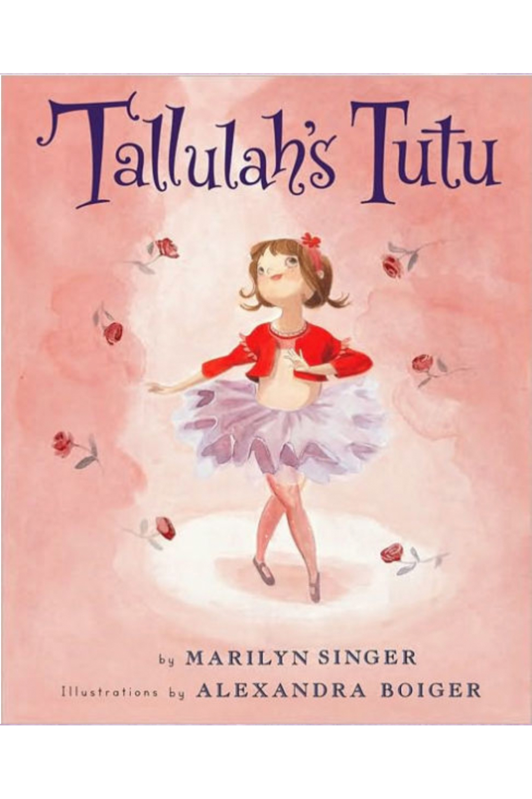 Houghton Mifflin Harcourt  Tallulah's Tutu - Front Cropped Image