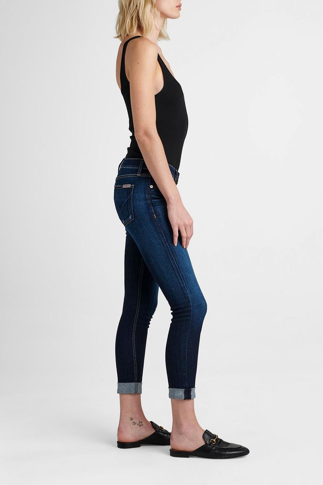 Hudson Jeans Tally Crop Corrupt - Front Full Image
