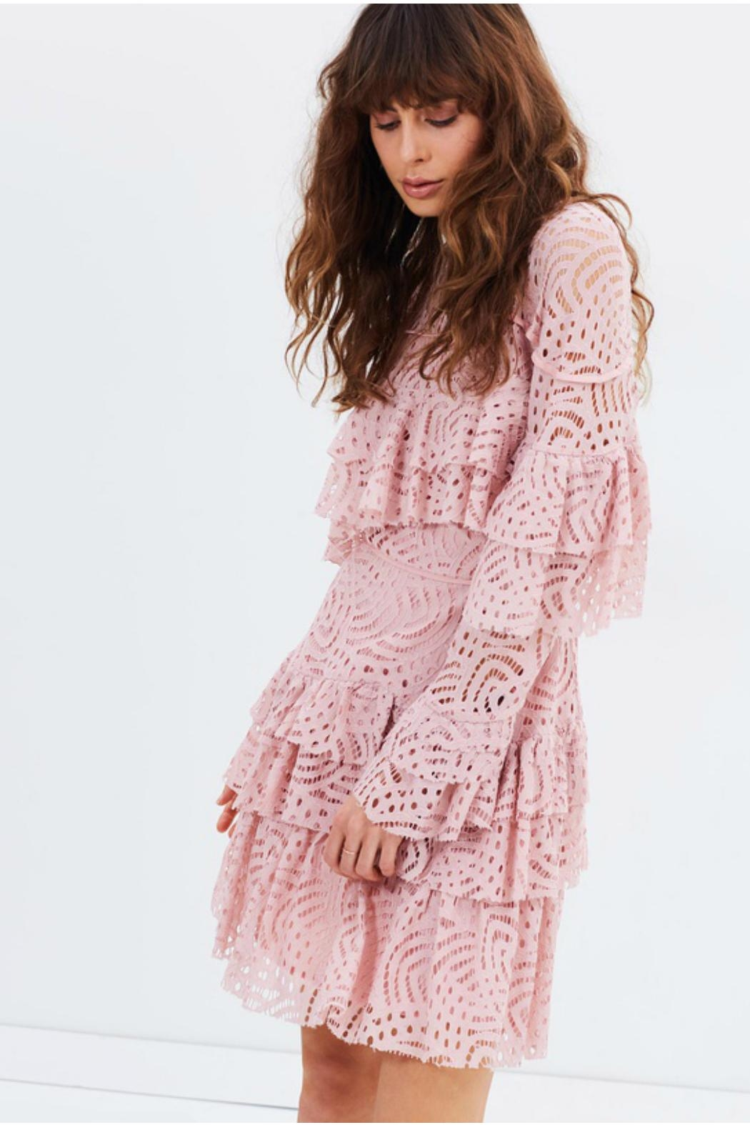 Talulah Veronica Lace Dress - Front Full Image