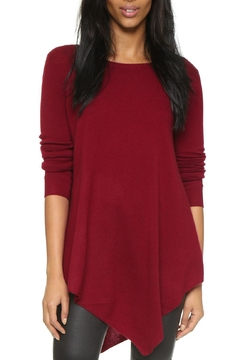 Joie Tambrel Deep-Scarlet Sweater - Product List Image