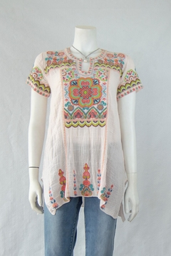 3J Workshop by Johnny Was Tamia Boho Top - Product List Image