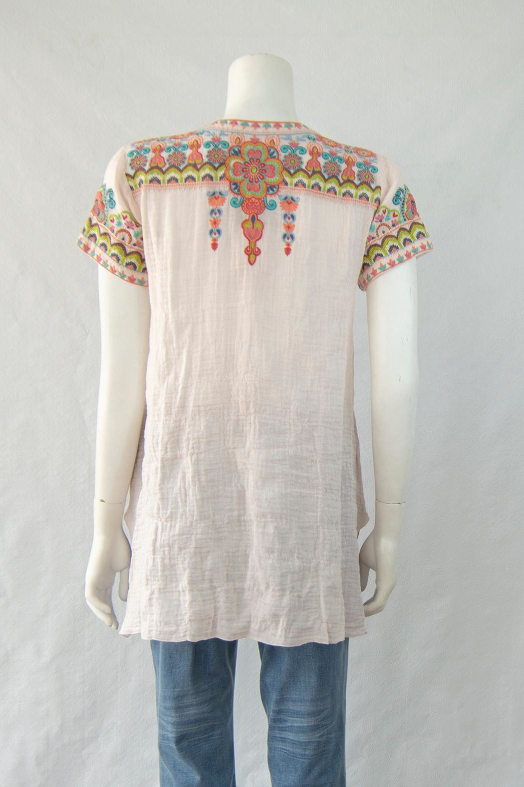 3J Workshop by Johnny Was Tamia Boho Top - Front Full Image