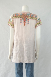 3J Workshop by Johnny Was Tamia Boho Top - Front full body