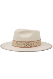 Olive and Pique Tamra Flat Brim Hat - Product Mini Image