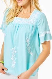 Lilly Pulitzer Tamryn Embroidered Top - Product Mini Image