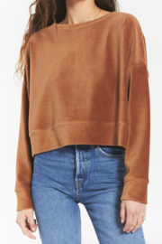 Zsupply Tan Cord Pullover - Product Mini Image