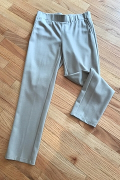 Symphony Tan Cropped Pant - Alternate List Image