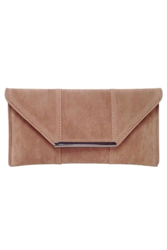 Wild Lilies Jewelry  Tan Envelope Clutch - Product List Image