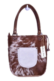 Bhrayna Tan Hairon Bag - Front cropped