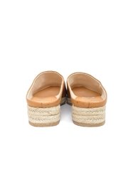 Dolce Vita Tan Leather Espadrilles - Back cropped