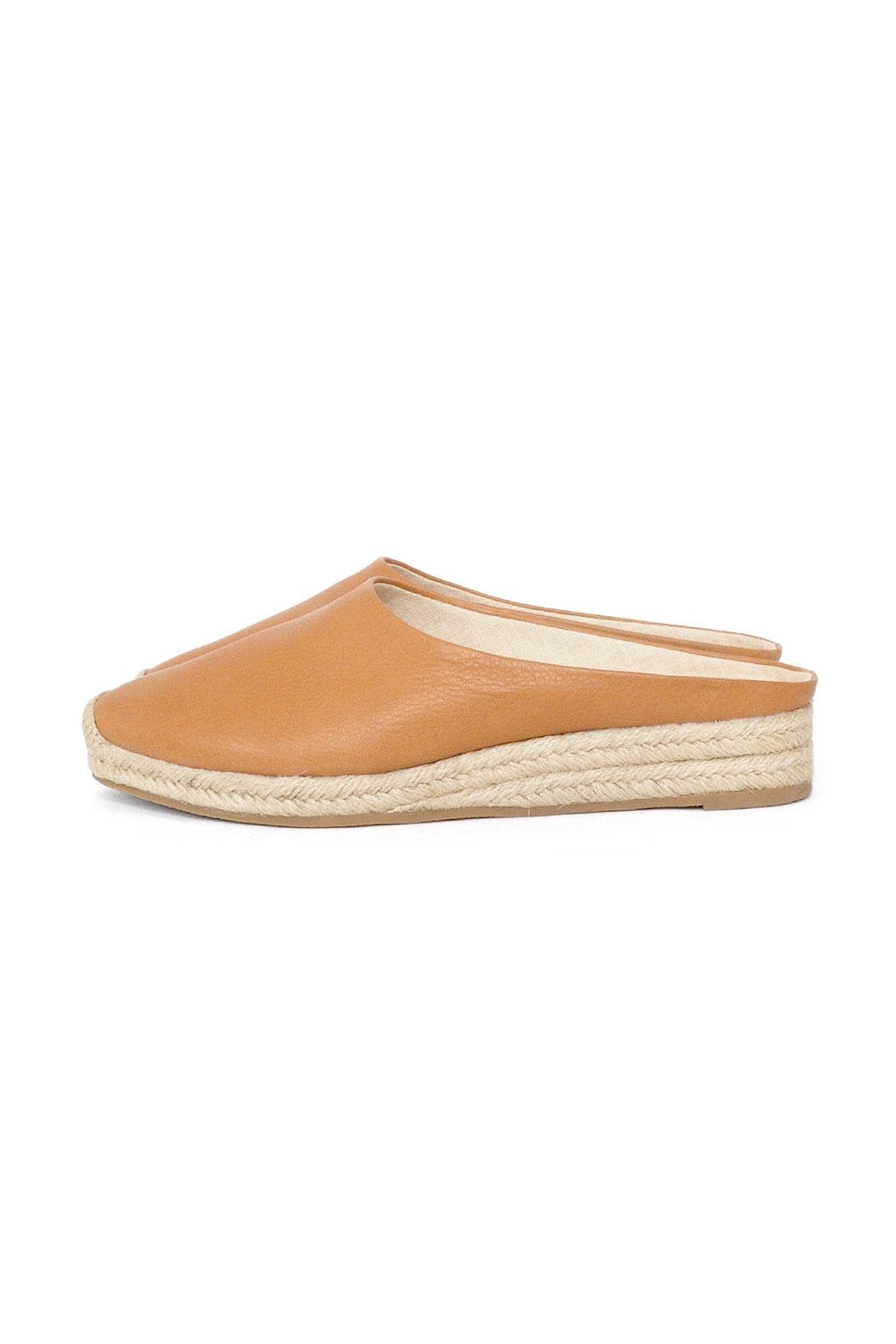 Dolce Vita Tan Leather Espadrilles - Front Cropped Image