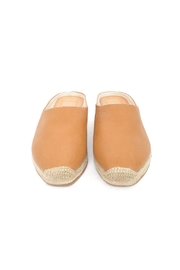 Dolce Vita Tan Leather Espadrilles - Side cropped