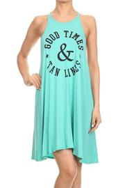 Acting Pro Goodtimes Sleevless Dress - Front cropped