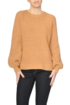 See U Soon Tan Metallic Sweater - Product List Image