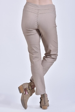 Ethyl Tan Pull-On Pant - Alternate List Image