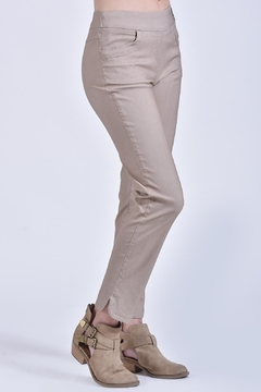 Ethyl Tan Pull-On Pant - Product List Image