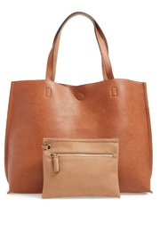 Street Level Tan Reversible Tote - Product Mini Image
