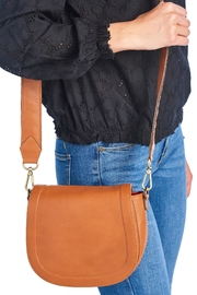 Two Neighbors Tan Saddle Bag - Product Mini Image