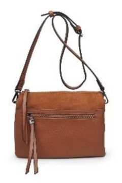 Street Level Tan Suede Crossbody - Alternate List Image