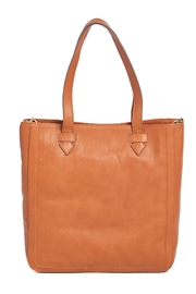 Two Neighbors Tan Tote Bag - Side cropped