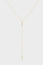 Gorjana Taner Bar Short Lariat - Product Mini Image