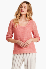 Nic + Zoe Tangelo Sweater - Front cropped