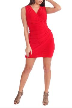 Shoptiques Product: Surplice Tank Dress