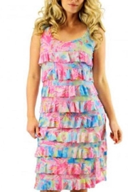 Tango Mango Colorful Ruffle Sundress - Product Mini Image