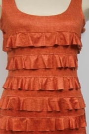 Tango Mango Orange Ruffle Dress - Product Mini Image