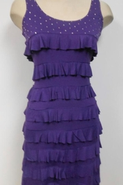 Tango Mango Purple Ruffle Dress - Product Mini Image