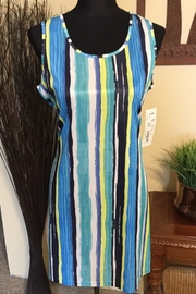 Tango Mango Striped Summer Dress - Product Mini Image