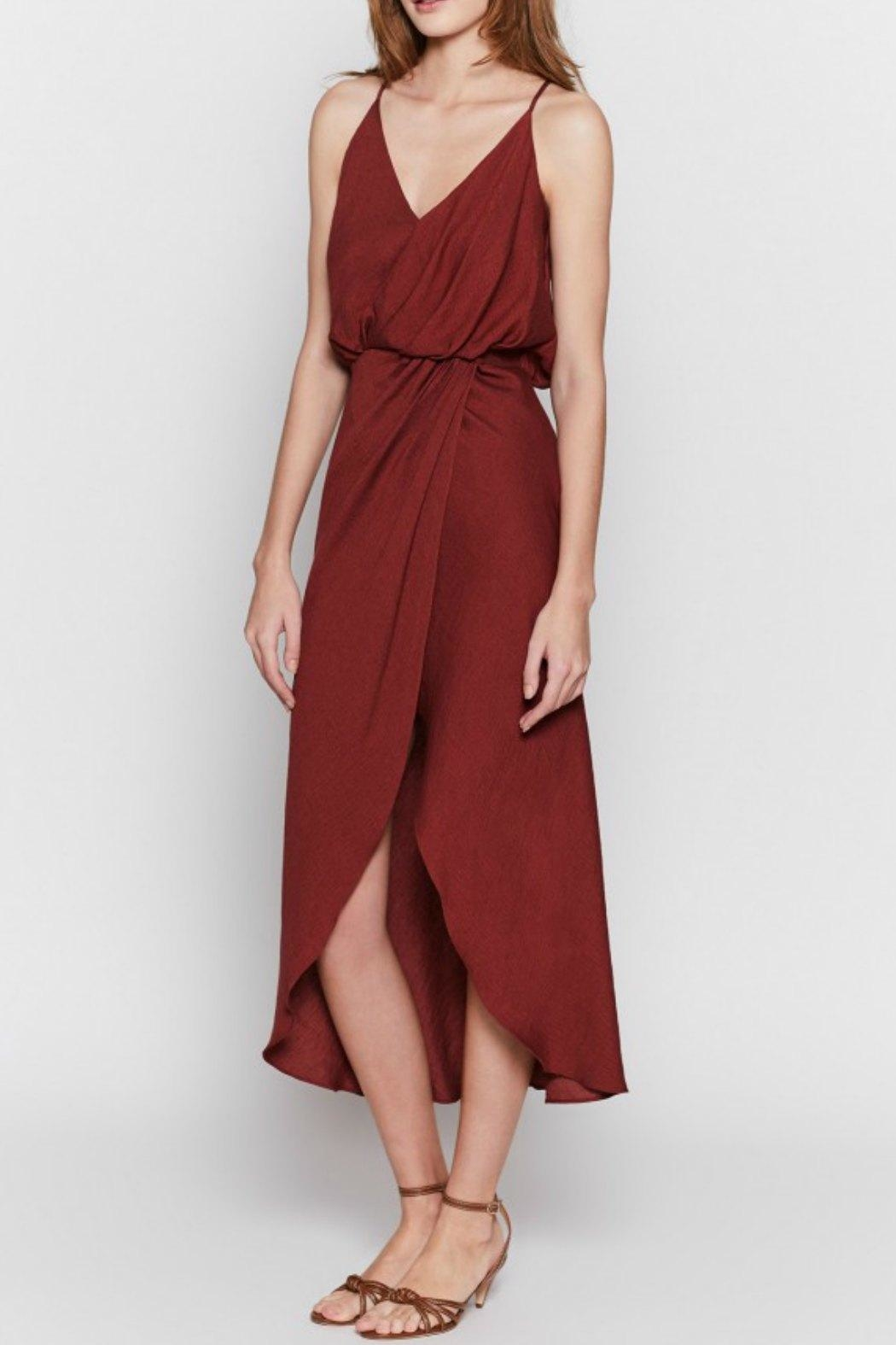 Joie Tanika Wrap Dress - Side Cropped Image