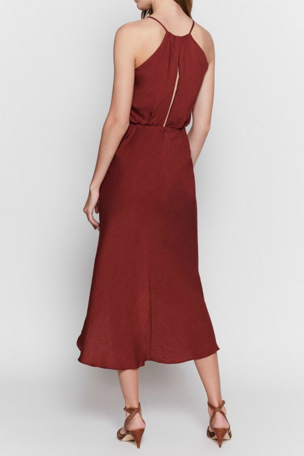 Joie Tanika Wrap Dress - Back Cropped Image