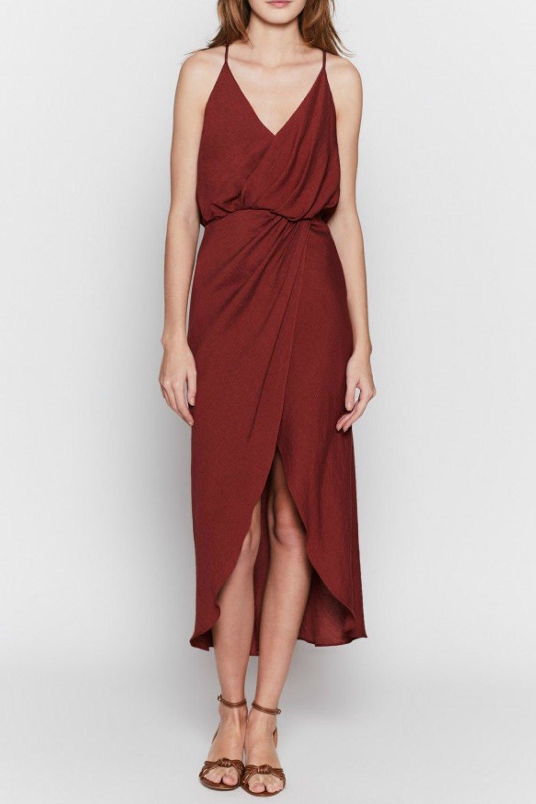 Joie Tanika Wrap Dress - Front Cropped Image
