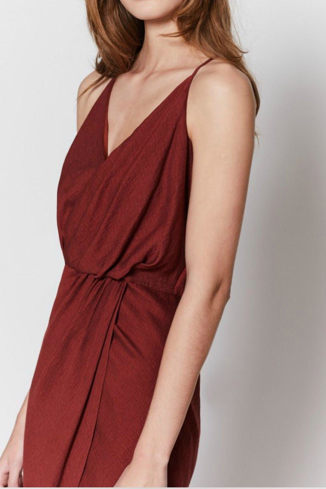Joie Tanika Wrap Dress - Front Full Image
